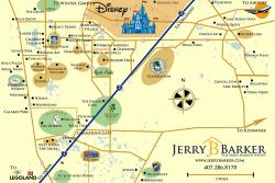 Orlando Vacation Resort Map