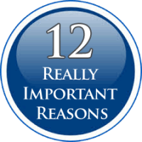Twelve Really Good Reasons