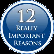 Twelve Really Good Reasons