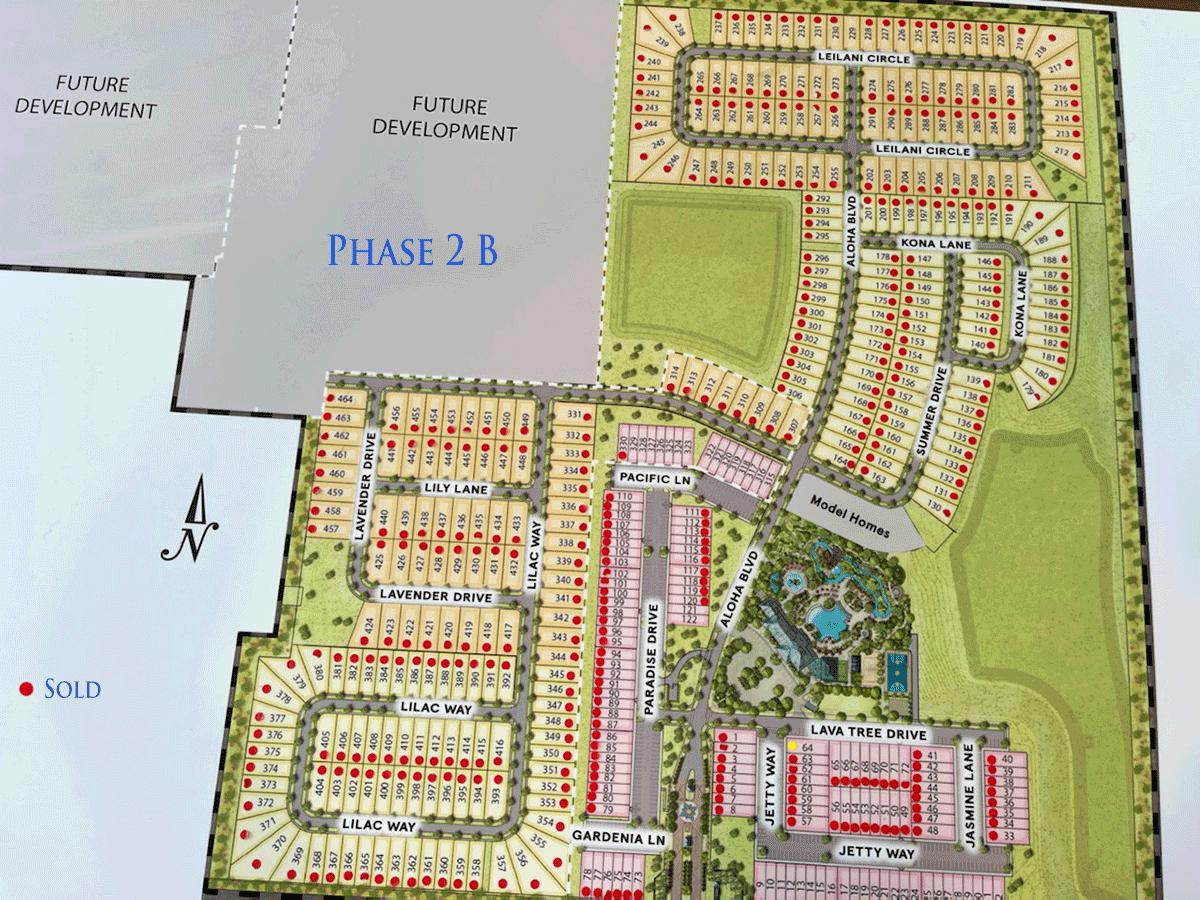 Windsor Island Lot Map